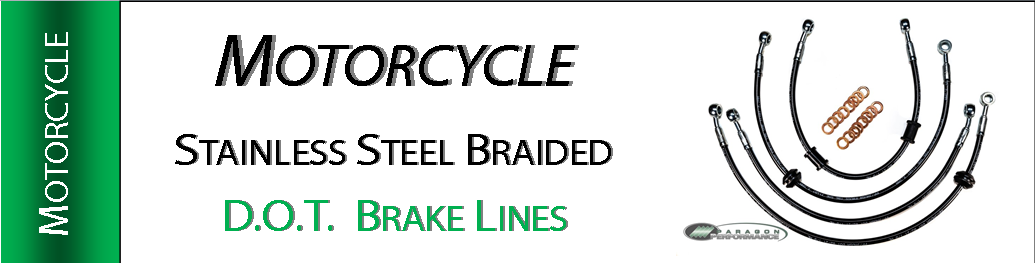 Stainless Steel Braided Motorcycle Brake Lines
